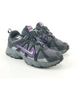 Nike Air Alvord Woman Size 7.5 Purple Gray Trail Hiking Athletic (unglue... - $34.64