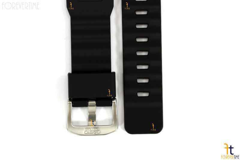 CASIO Pathfinder Protrek PRW-6000 Original Black Rubber Watch Band Strap image 7