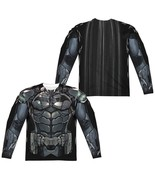 Batman Arkham Knight Uniform Outfit Allover F/B Sublimation Long Sleeve ... - £33.90 GBP+
