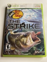 Bass Pro Shops: The Strike (Microsoft Xbox 360, 2009) With Manual - Tested - $13.09