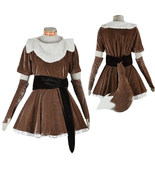 Anime Pokémon Eevee Cosplay Costume Dress Princess Party Fancy Costume - $148.01