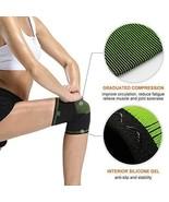 Knee Sleeve Compression Support Brace Size Medium for Women Men Rehab - $9.45