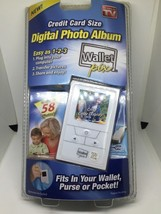 Digital Photo Album with Stand As Seen on TV Credit Card Size AB6
