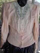 Beautiful Vintage Scott McClintock Button Up Blouse - Ladies Petite Size... - $39.59