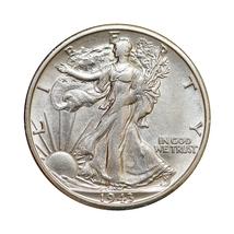1943 S Walking Liberty Half Dollar - Choice BU / MS / UNC - $41.00