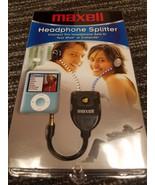 Maxell Headphone Splitter - $10.00