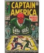 Captain America #103 ORIGINAL Vintage 1968 Marvel Comics Red Skull Sharo... - $49.49