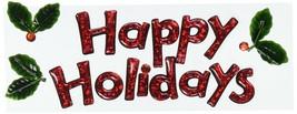 EK Success Title Waves Happy Holidays 3-D Stickers, Medium, Multicolored - $5.90