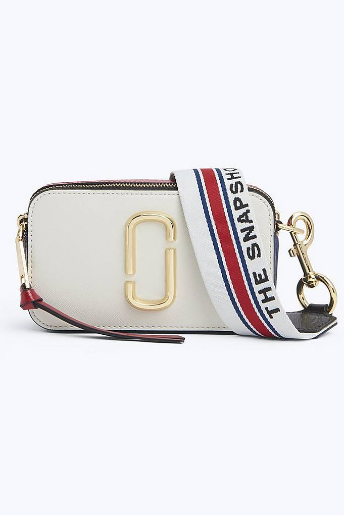 Marc Jacobs Snapshot Small Camera Bag Crossbody Bag Coconut Multi