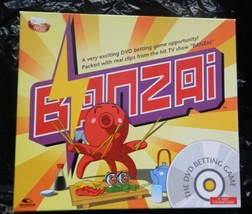 Banzai DVD Betting  Game--Complete - $18.00