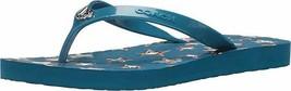 Coach Women's Abbigail Flip Flops Denim Size 6 - $34.64