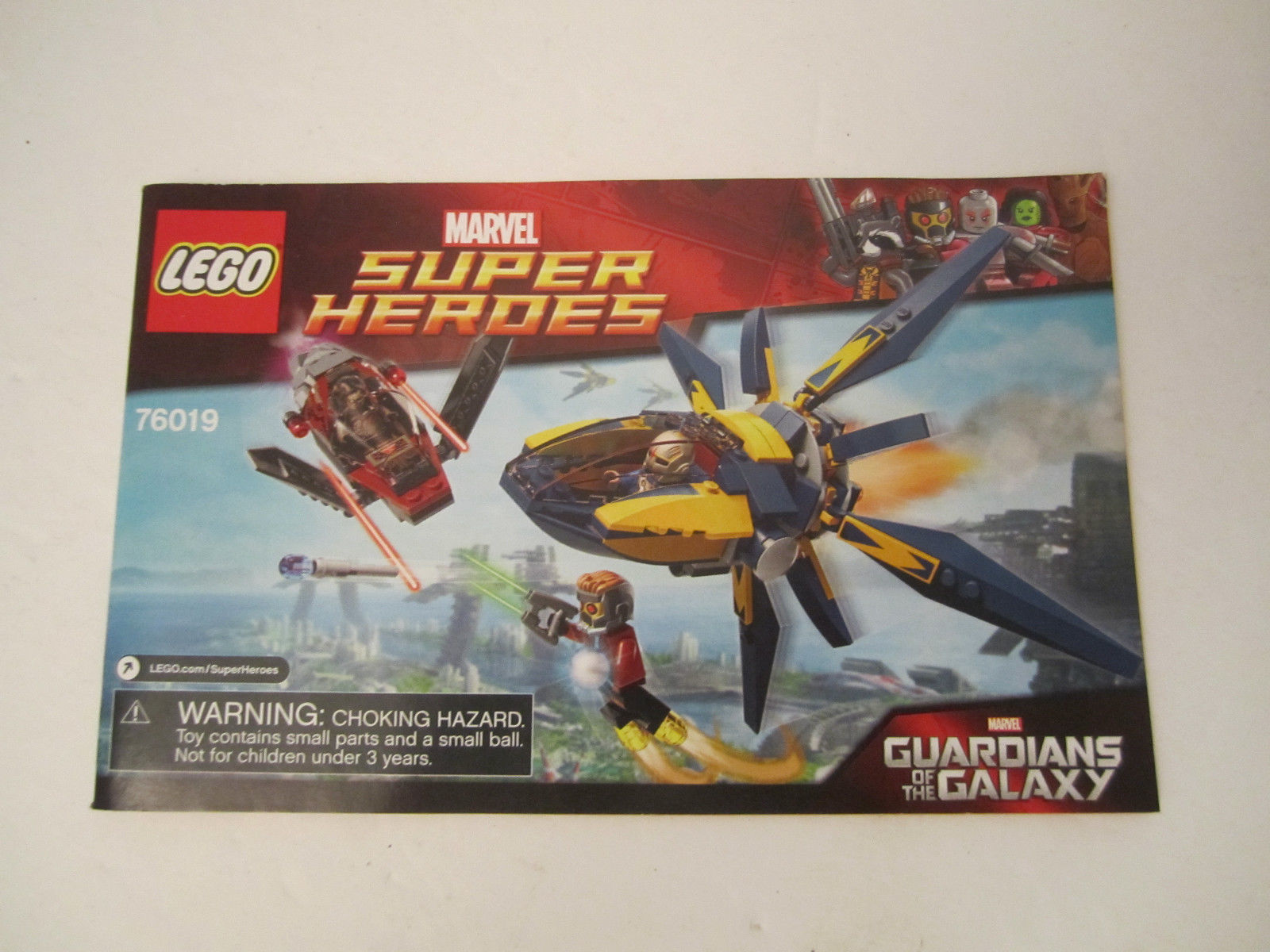 Lego Instruction Manual Only 76019 Marvel Super Heroes Guardians of the Galaxy