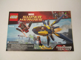 Lego Instruction Manual Only 76019 Marvel Super Heroes Guardians of the Galaxy image 1