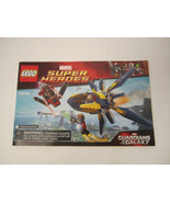 Lego Instruction Manual Only 76019 Marvel Super Heroes Guardians of the ... - $6.00