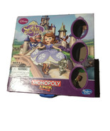 Disney's Sofia the First Monopoly Jr. Board Game Hasbro Collectible Game... - $24.45