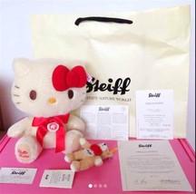 2010 Steiff Hello Kitty Teddy bear Steiff limited 2010! Plush doll toy J... - $838.53