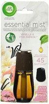 Air Wick Essential Mist Refill Vanilla and Pink Papaya Essential Oils Di... - $10.99
