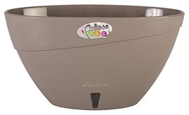 Santino, Self Watering Planter CALIPSO Oval Shape L 9.4 Inch x H 5.1 Inc... - $10.88