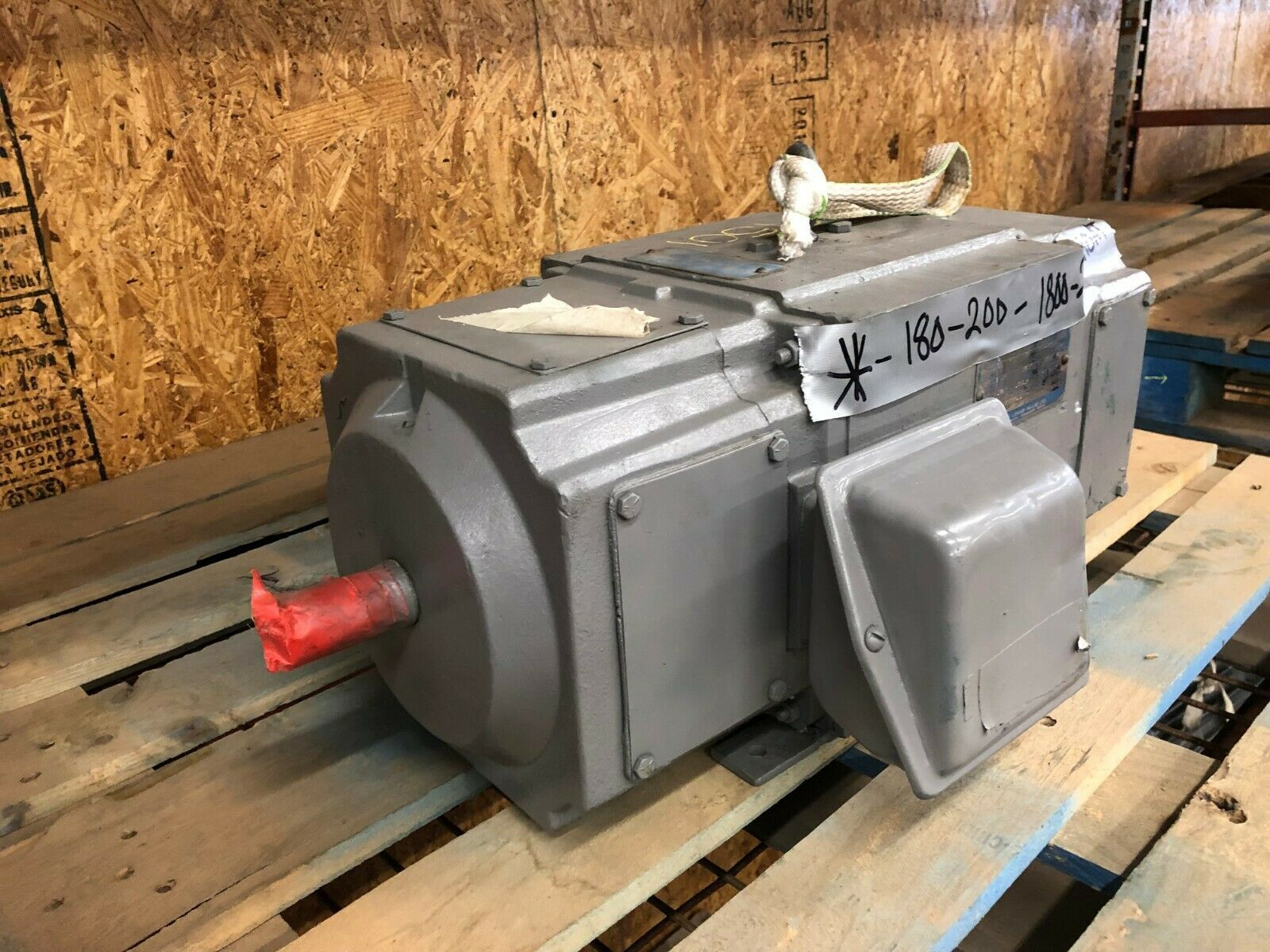Louis Allis TR Motor 1750/2500 RPM 180V 25 Amps Remanufactured image 3