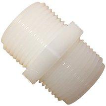 Nylon Hex Nipple with 3/4-inch Male NPT - $8.50