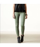 American Eagle Outfitters Jeans - Size 2 Celery Green Cotton Elastane St... - $18.95