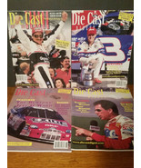 Lot of 4 Nascar Die Cast Digest 1998-1999 Earnhardt Sr. & Jr. ... - $12.30