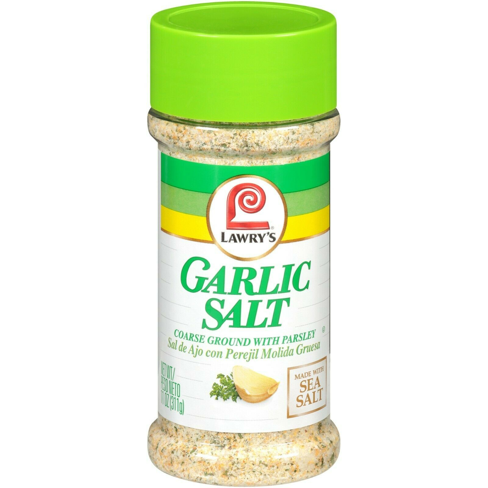 Primary image for (2 pack) Lawry's Classic Garlic Salt Shaker, Coarse Ground, 11 oz