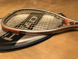 Vintage Head AMF Competition Racket W/ Original Case made in USA Hogan Force - $28.71