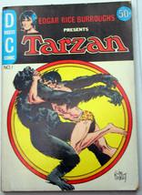 Dc Digest Comic #1 Edgar Rice Burroughs Presents Tarzan 1972 ant-men Beast Men - $17.46