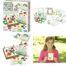 4M Green Creativity Pressed Flower Art Kit - Arts  Crafts Diy Recycle Fl... - $23.22