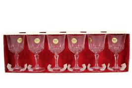 J G. Durand Set of 6 Cristal d' Arques St Germain n4 Crystal Wine Glasse... - $41.57