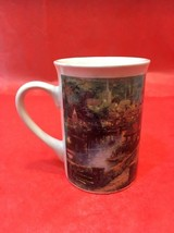 Vintage 1995 Thomas Kinkade LAMPLIGHT VILLAGE Coffee Mug - $23.38
