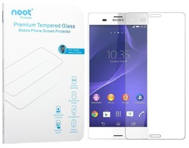 Sony Xperia Z3 Screen Protector - NOOT 0.33mm Tempered Glass Crystal Clear - $7.31