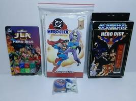 DC UNIVERSE HERO DICE, JLA DICE & DC HEROCLIX HYPERTIME GAME - FREE SHIP... - $187.00