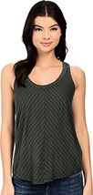 Splendid Women's Double Pinstripe Jersey Tank Top Military/Navy Tank Top... - $45.00