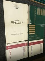 1993 Lincoln Mark VIII Service Réparation Atelier Manuel Set Avec Evtm +... - $88.87