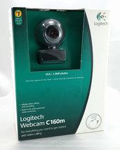 Logitech Webcam C160M 640x480 Video Photo w/ Built-in Mic & Headset Included - $26.95