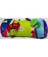 "Disney Baby Einstein Musical Roll Toy 16"" Pillow Tummy Time Crab Turtle ... - $25.67"
