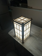 Japanese wooden lamp  - $240.00