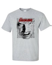 The Shining t-shirt Jack Torrance All work Stephen King graphic tee 100% cotton image 2