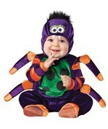 "Infant/Toddler ""Itsy Bitsy Spider"" Spider Fits 18-24 Months/In Character™ - $759,67 MXN"