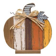 Country HARVEST SLAT PUMPKIN Rustic Fall Autumn Primitive Thanksgiving H... - $45.99