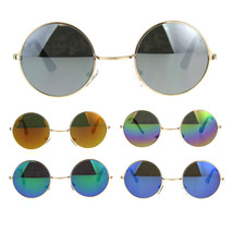 Kids Childern Size Metal Rim Round Circle Lens Color Mirror Sunglasses - $9.95