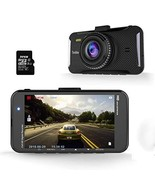 "Trochilus Dash Cam, 1080p FHD Dashboard Camera 4""LCD Screen Car Camera 1... - $78.23"