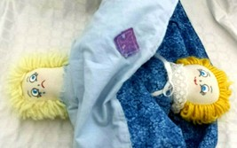 """Vintage 13"""" Hand Made MOOD Flip Double Doll ~ Happy Sad Face Collectible... - $12.86"""