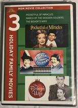 MGM Movie Collection: 3 Holiday Family Movies (DVD) - $12.99