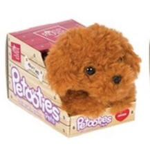 "Russ Petooties 4"" Brown Poodle - $9.40"