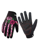 Women Gloves Screen Touch Motorcycle Full Finger Outdoor Motorbike Prote... - $26.71