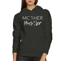 Mother Hustler Charcoal Grey Unisex Hoodie Cute Gifts For Mothers - $25.99+