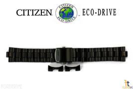 Citizen Conducción Ecológica. CA0435-51E 22mm Negro Ion Bañado Acero Ino... - $107.45